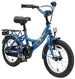 BIKESTAR Kinderfahrrad für Jungen ab 4 Jahre | 14 Zoll Kinderrad Classic | Fahrrad für Kinder Blau | Risikofrei Testen