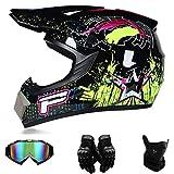SK-PBB Jugend Motocross Helm Kinder Motorrad Fahrrad Helm (L)