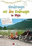Wandern mit Kinderwagen im Allgäu: Wanderführer für familiengerechte Wanderungen mit Kinderwagen inkl. Kempten und Umgebung