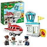 LEGO 10961 DUPLO Flugzeug und Flughafen Spielzeug Set für Kleinkinder ab 2 Jahre