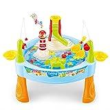 25 Stück Sandkastentisch Wasser   spieltisch wassertisch   wassertisch spielzeug kinder, Angelspielzeug Kit für Babys Kleinkinder Jungen Mädchen Frühpädagogik