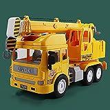 Xolye Großer Kran Modell Inertial Sound und Lichtmusik Kinder Pädagogisches Spielzeug Auto 3-jähriges Kind Frühe Bildung Spielzeug Auto Simulation Engineering Auto Spielzeug