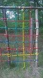Kletternetz PE Ø 16 mm für Spielturm Kletterturm Kletterseil Strickleiter (1,00*2.00 m (3/7))