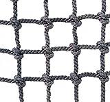 Xbshmw Kletternetz für Kinder und Erwachsene, Krabbelnetz Fallen Schutz Netz für Outdoor Sport Innendekoration, Netzstärke 8mm Sicherheitsnetz,1×1m(3.3 * 3.3ft)