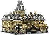 EBAT Architektur Klemmbausteine Bausatz - Französischer Palast 10 Jähriges Jubiläum, MOC-70573 French Palace von STEBRICK, Kompatibel mit Lego - 23399 Teile