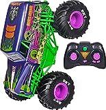 Monster Jam 6060367 MJC RDC GML Offizielle Grave Digger Freestyle Force, Ferngesteuertes Auto, Monstertruck-Spielzeug für Jungen, Kinder und Erwachsene, Maßstab 1:15