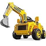 Tastak RC Elektroauto Engineering Auto Traktor Fernbedienung Bagger Kinder Geschenke Kinder Spielzeug Kann Auf Elektroauto Fahren Kann Auf Elektroauto Batterie Auto Für Kinder Sitzen