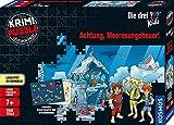 Kosmos680664Krimi Puzzle Die drei ??? Kids - Achtung, Meeresungeheuer! Leuchtet im Dunkeln, 150 Teile, Lesen - Puzzeln - Rätsel lösen, für Kinder ab 7 Jahre