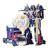 WWWE Transformatorenspielzeug, Deformiertes Auto-Roboter-Spielzeug Verformt Optimus-Prime-Automodell-Kinderspielzeug