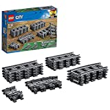 LEGO 60205 City Schienen, 20 Stück, Erweiterungsset, Kinderspielzeug