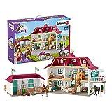 Schleich 42416 Horse Club Spielset - Großer Pferdehof mit Wohnhaus und Stall, Spielzeug ab 5 Jahren