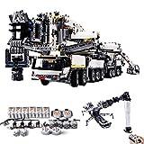 HYZM Technic Kran Liebherr LTM 11200, 7692 Teile Bausteine mit 8 Motoren Baublock, kompatibel mit Lego Technic