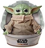 Star Wars GWD85 Disney Mandalorian The Child Baby Yoda Plüschfigur (28 cm)