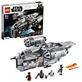 LEGO 75292 Star Wars Der Mandalorianer – Razor Crest, mit Baby Yoda und weiteren Minifiguren aus -Der Mandalorianer, Bauset