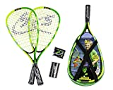 Speedminton Junior Set - Original Speed Badminton / Crossminton Kinderset inkl. 2 Kinderschläger, 2 Fun Speeder und Tasche (SM01-SJR-10)