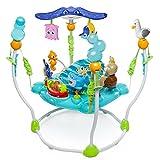 Bright Starts, Disney Baby, Findet Nemo höhenverstellbares Spring- und Spielcenter mit Lichtern, Melodien und mehr als 13 interaktiven Spielzeugen