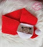 Strickanleitung Steckschal Babyschal Weihnachtsmann: Ideal für Anfänger