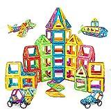Condis Magnetische Bausteine 120 Teile Magnetspielzeug Magnete Kinder Magnetbausteine Magnet Spielzeug Kinder Magnetspiele für Kinder Kinderspielzeug Puzzle Geschenk ab 3 4 5 6 7 8 Jahre Junge Mädchen