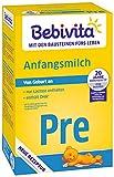 Bebivita Pre Anfangsmilch - von Geburt an, 4er Pack (4 x 500g)