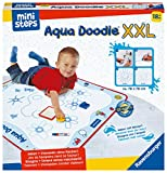 Ravensburger ministeps 4180 Aqua Doodle XXL, Große Malmatte für fleckenfreies erstes Malen mit Wasser, für Kinder ab 18 Monate, inkl. Matte und Stift