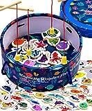Jaques of London Angelspiel | Spielzeug ab 2 Jahre | Magnetspiel | Angelspiel Für Kinder ab 2 3 4 Jahre | Seit 1795