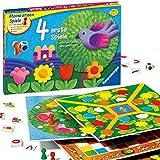 Ravensburger 21417 - 4 erste Spiele - Spielesammlung für die Kleinen - Spiele für Kinder ab 3 Jahren, Brettspiele für 2-6 Spieler - Farbwürfel