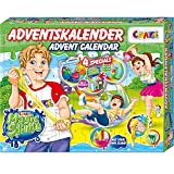 CRAZE Adventskalender MAGIC SLIME Schleimlabor Weihnachtskalender kreiere deinen eigenen Schleim kreativer Spielspaß für Kinder und Jugendliche 24737