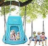YOLEO Zelt für Kinderschaukel Nestschaukel Schaukelzelt Wasserdicht 100 x 130 - 180 cm