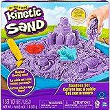 Kinetic Sand 6024397 Sandbox Set mit 454 g Kinetic Sand, 3 Förmchen und 1 Schaufel, unterschiedliche Varianten