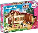 Playmobil Heidi 70253 Heidi und Großvater auf der Almhütte, Ab 4 Jahren
