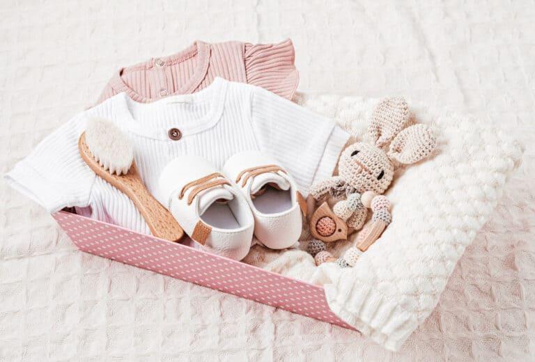 Geschenke zur Geburt für Mädchen